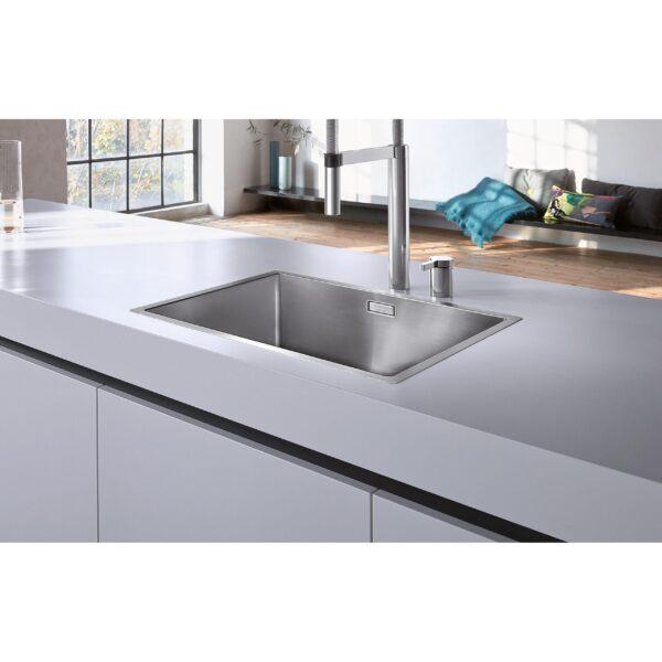 BLANCO CLARON 550 IF Stainless steel satin polish scaled