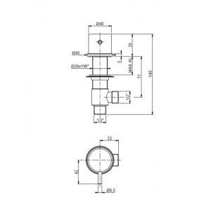 Sprängsskiss Diskmaskinsavstängning iCrolla 10590