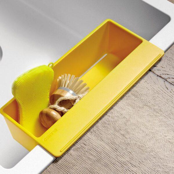 blanco sity xl 6 s sink w 100 d 50 cm basin right stone grey accessory set lemon blanco 525055 5