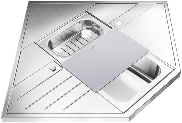 sköljskål rostfritt stål 361201 mm art no 224787 2